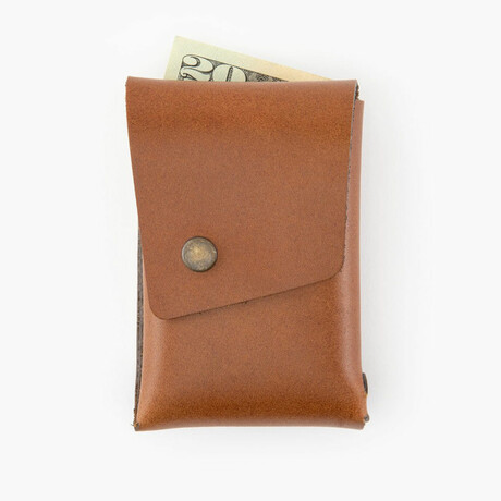 Leather Dugout // Wallet // Brown