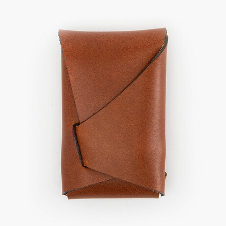 Leather Dugout // Origami // Brown