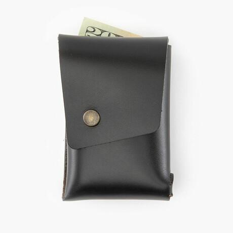 Leather Dugout // Wallet // Black