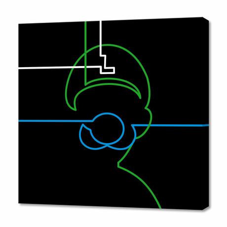 """Luigi (12""""H x 12""""W x 0.75""""D)"""
