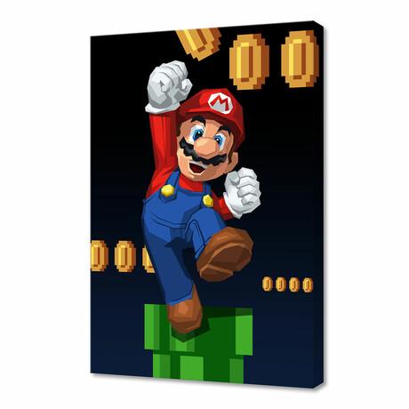 """Super Mario (12""""H x 8""""W x 0.75""""D)"""