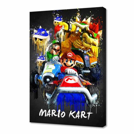"Mario Kart (12""H x 8""W x 0.75""D)"