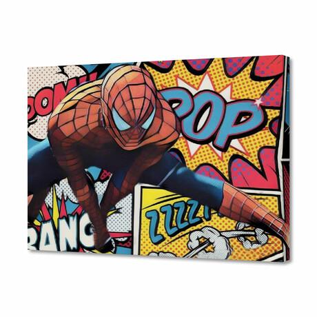 """Spiderman (8""""H x 10""""W x 0.75""""D)"""