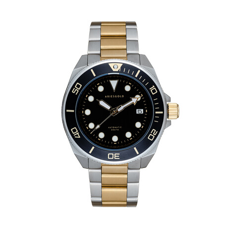 Aries Gold Dreadnought Automatic // G 9029 SG-BKG