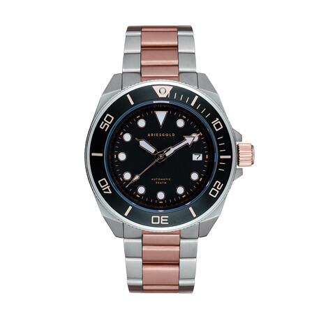 Aries Gold Dreadnought Automatic // G 9029 SRG-BKRG