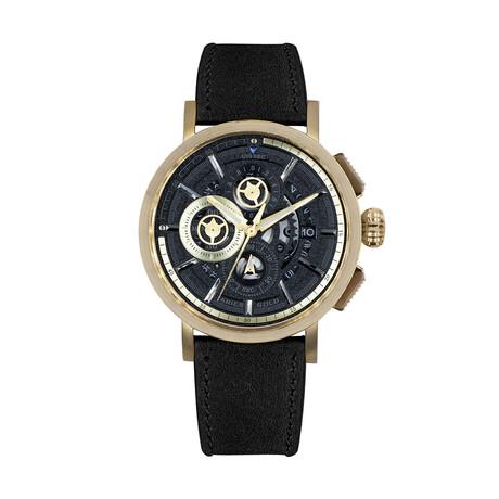 Aries Gold 7018 Chronograph Quartz // G 7018 G-BK