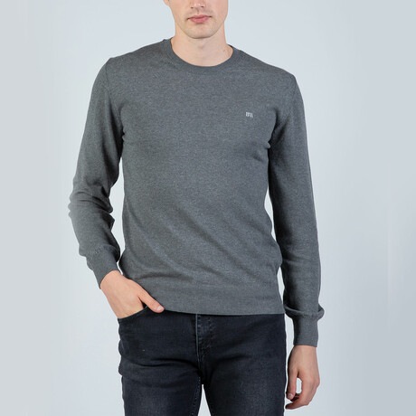 Zayn Round Neck Pullover // Antracite (S)