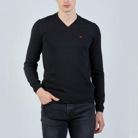 Johnny V-Neck Pullover // Black (S)