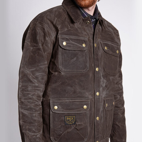 The Adventure Jacket // Coffee (Small)