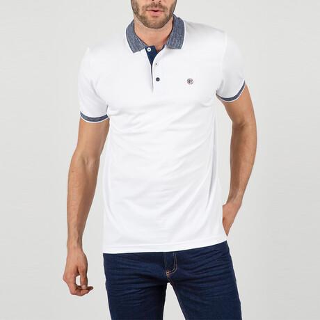 Dublin Short Sleeve Polo Shirt // White (S)