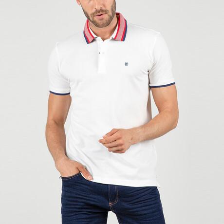 Lisbon Short Sleeve Polo Shirt // White (S)