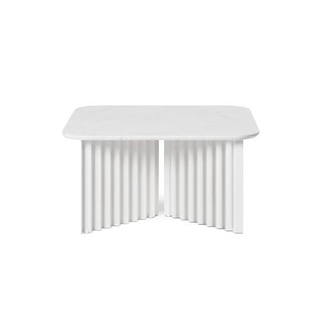 PLEC Table // Marble // Medium (White Carrara)