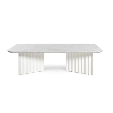 PLEC Table // Marble // Large (White Carrara)
