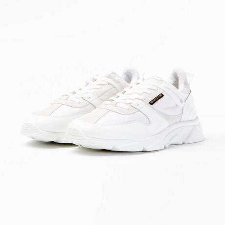 Ala Low Vitello Bomber Sneakers // White (Euro: 40)