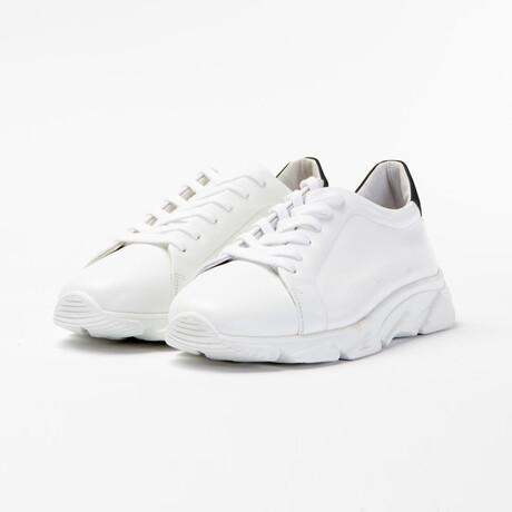 Foro Italico Low Sneakers // White (XS)