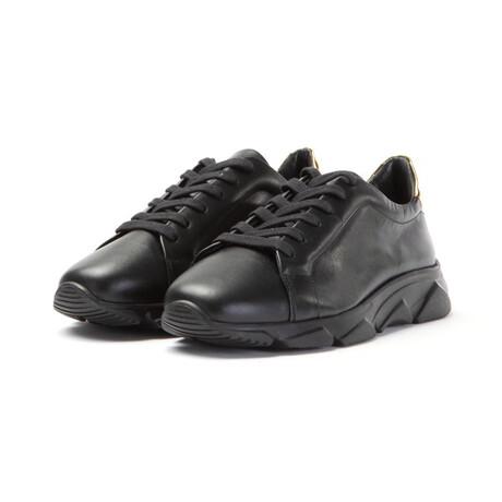 Foro Italico Low Sneakers // Black (XS)