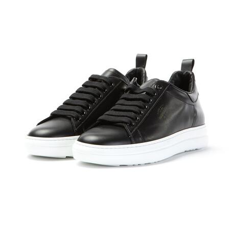 Court Classic Vitello Sneakers // Black (Euro: 40)