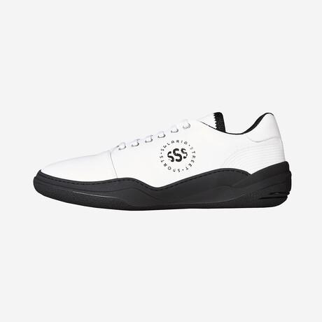 Salaria Low Sneakers // White + Black (Euro: 40)
