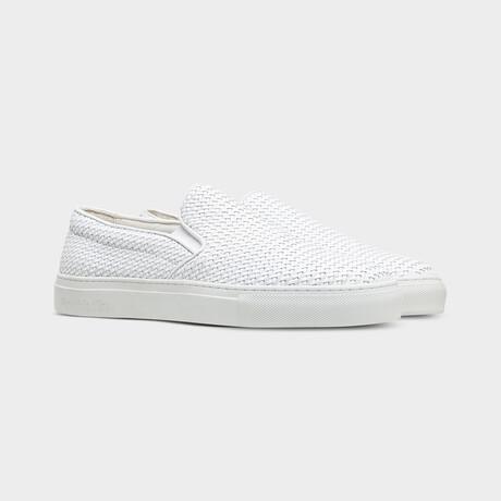 Foro Italico Slip On Sneakers // White (Euro: 40)