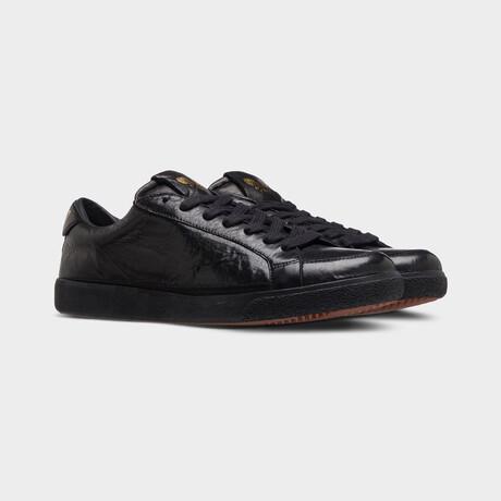 Legend Low-Top Vintage Sneakers // Black (Euro: 40)