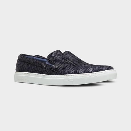 Foro Italico Slip On Sneakers // Navy (Euro: 40)