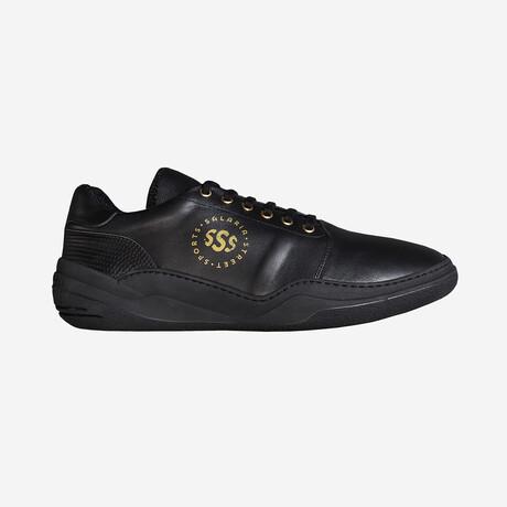 Salaria Low Sneakers // Black + Gold (Euro: 40)