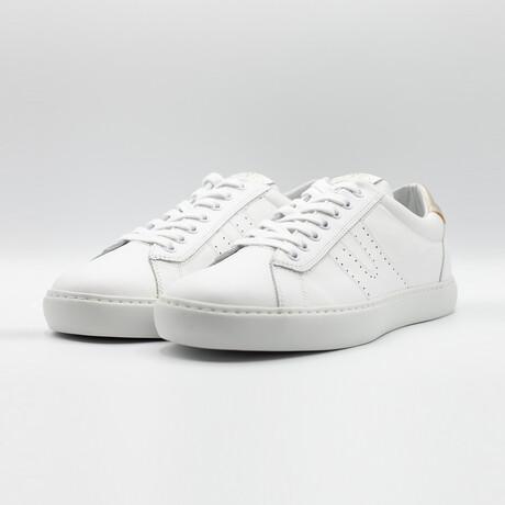 Open Low Vitello Sneakers // White (Euro: 40)