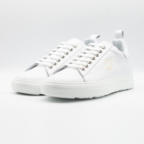 Court Classic Vitello Sneakers // White (Euro: 40)