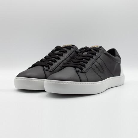 Open Low Vitello Sneakers // Black (Euro: 40)