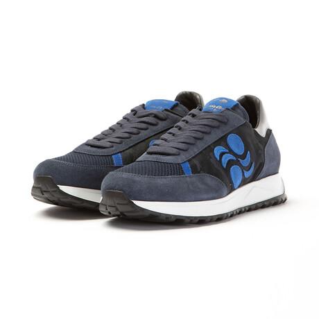 Touring Low Camo Moon Sneakers // Blue (Euro: 40)