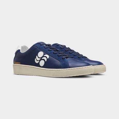 Suarez Low Vitello Moon Sneakers // Blue (Euro: 40)