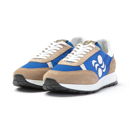 Touring Low Moon Sneakers // Blue + Beige (Euro: 40)