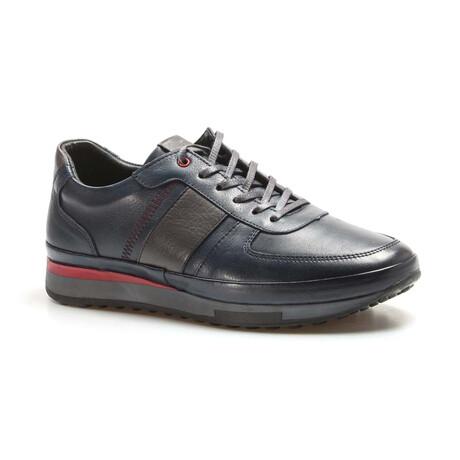 855MA1311 Casual Shoes // Navy (EU Size 40)