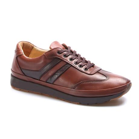 662MA1001 Casual Shoes // Tobacco (EU Size 40)