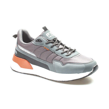 865MA5036 Sneakers // Smoke + Orange (EU Size 40)