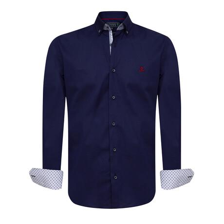 Alejandro Shirt // Navy (S)