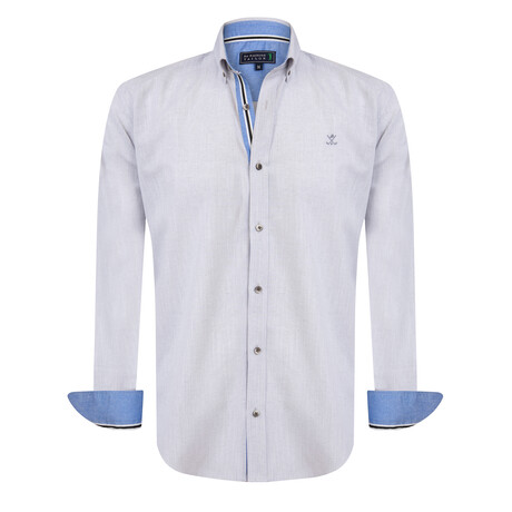 Abramo Shirt // Gray (S)
