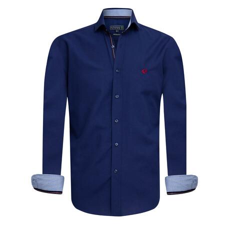 Adre Shirt // Navy (S)
