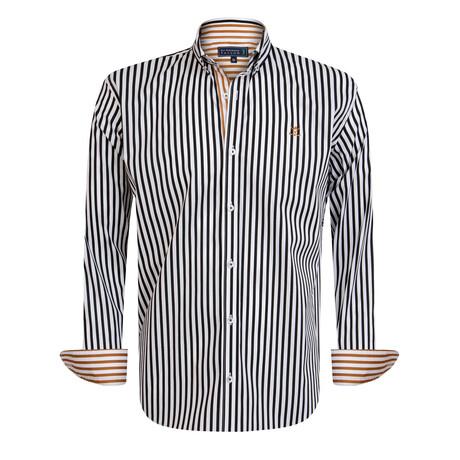 Giovani Shirt // Black + White (S)