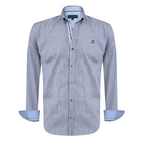 Abramo Shirt // Navy (S)