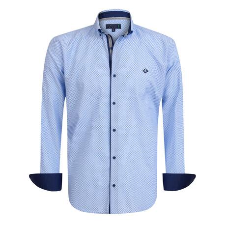 Cammeo Shirt // Blue + Marine (S)