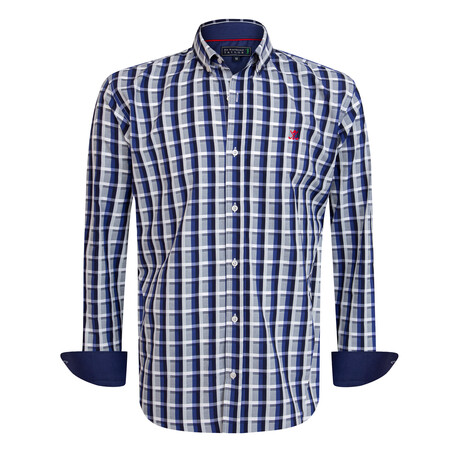 Piero Shirt // Navy (S)