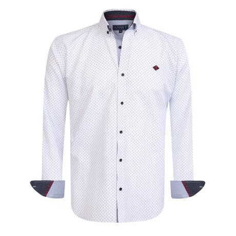 Gitano Shirt // White + Black (S)