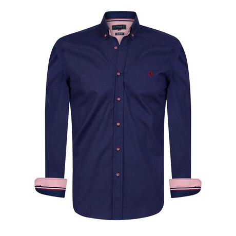 Bari Shirt // Navy (S)