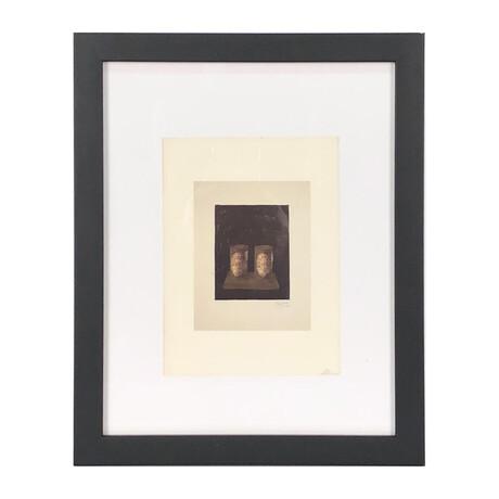 Jasper Johns // Ale Cans // 1975 Offset Lithograph