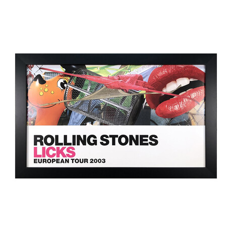 Jeff Koons // Rolling Stones Licks European Tour // 2003 Offset Lithograph