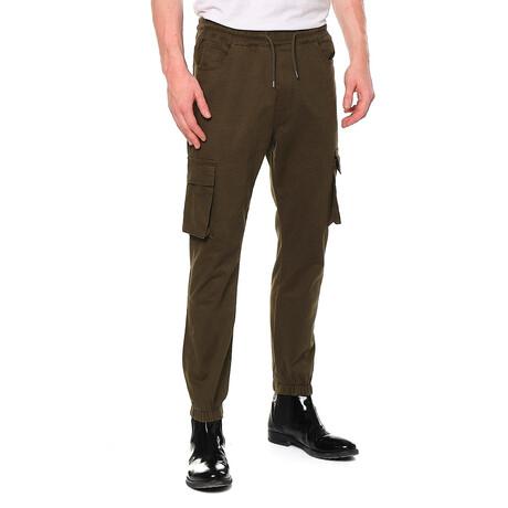 2672 Pants // Dark Olive (29WX32L)