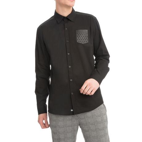 4770 Pocket Button-Down Shirt // Black (S)