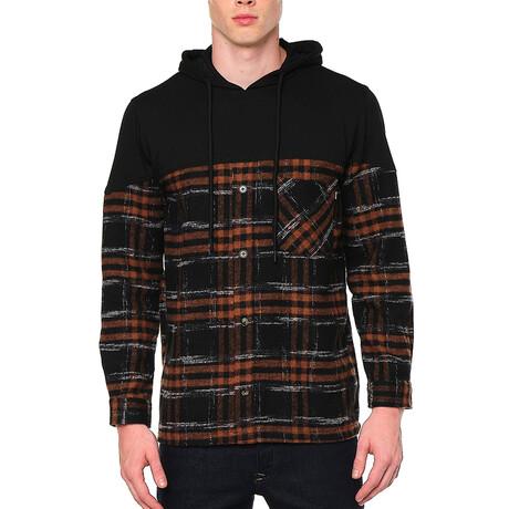 4892 Jacket // Brown + Black (S)
