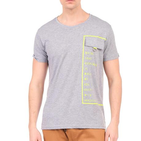 8134 T-Shirt // Gray Melange (S)